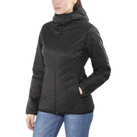 Icebreaker Hyperia Hooded Jacket Damen black